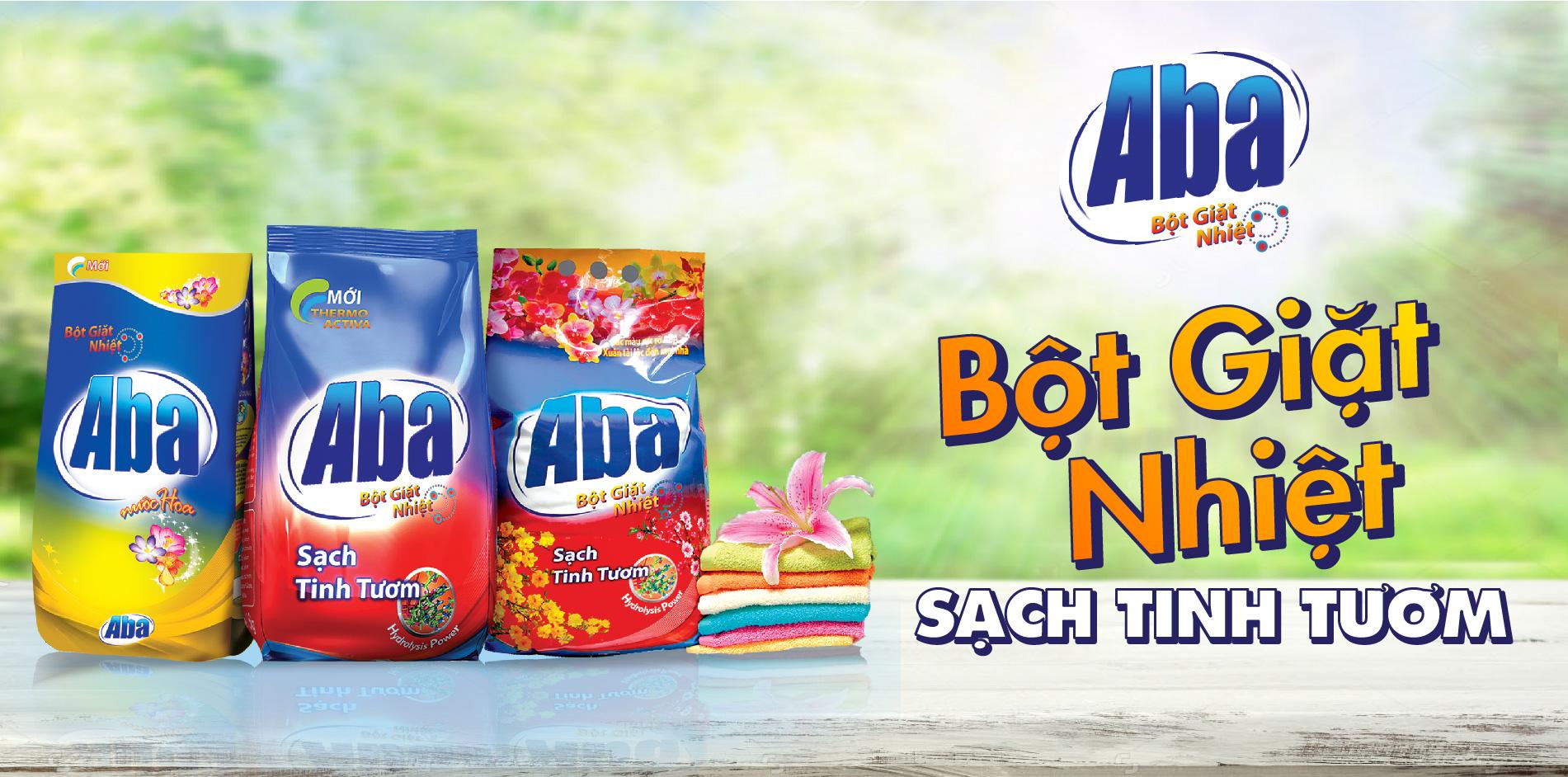 Bột giặt ABA